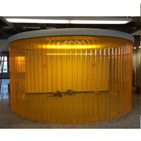 PVC Curtain Amber Curtain (Anti Insect)