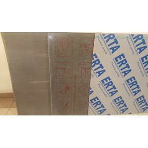 Plastik PVC Sheet Grey ERTA