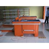 Distributor MEJA KASIR MINIMARKET Tipe 1-Standard ALFAMIDI  3
