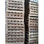 Pallet kayu ukuran 80 X 100 X 12 Cm Two way single deck 2