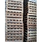 Pallet kayu ukuran 80 X 140 X 12 Cm Twoway single deck 1