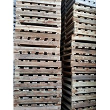 Pallet kayu ukuran 100 X 100 X 12 Cm Twoway single deck