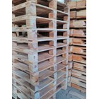 Pallet kayu ukuran 100 X 130 X 14 Cm Twoway double deck 1