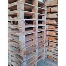 Pallet kayu ukuran 100 X 130 X 14 Cm Twoway double