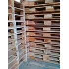 Pallet kayu ukuran 100 X 140 X 14 Cm Twoway double deck 1