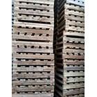 Pallet kayu ukuran 140 X 140 X 14 Cm Twoway double deck 2