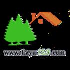 Pallet kayu ukuran 140 X 140 X 14 Cm Twoway double deck 3