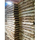 Pallet kayu ukuran 90 X 100 X 14 Cm Fourway 1