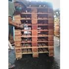 Pallet kayu ukuran 90 X 150 X 14 Cm Fourway 1