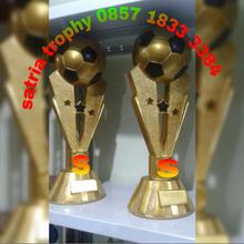 Piala Bola Bahan Resin