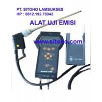 Jual PORTABLE FLUE GAS ANALYZER SENSONIC 1400