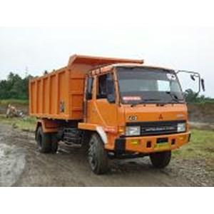 Sewa Dump Truck Mitsubishi 190 PS HD Roda 6 By CV. Ginting Jaya