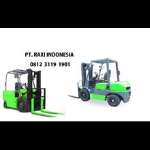 Forklift TRIATHLON - Mesin Isuzu 3 Ton 3 Meter