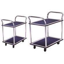 HAND TROLLEY DUAL HANDLE DUAL TABLE PRESTAR 150 KG - 300 KG