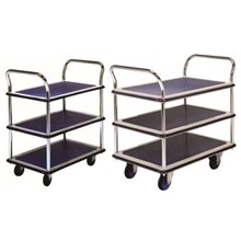 HAND TROLLEY DUAL HANDLE TRIPLE TABLE PRESTAR 150 KG - 300 KG