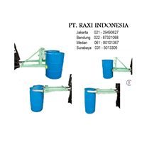 Jual Drum Plastik - Drum Gripper For Forklift - Alat Angkat Drum