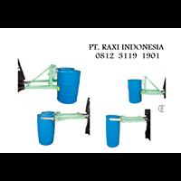 Drum Plastik - Drum Gripper For Forklift - Alat Angkat Drum