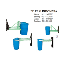 Drum Plastik - Drum Gripper For Forklift - Alat Angkat Drum