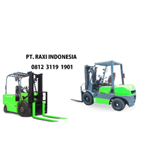 Forklift Diesel 3 Ton 3 Meter - Merk TRIATHLON