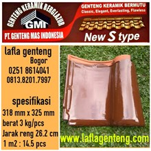 Genteng Keramik GMI  new S-type