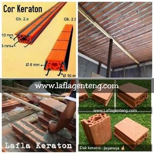 Dak Keraton ceiling brick