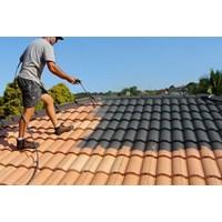 cat genteng - roof paint service Murah 5