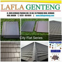 Jual Genteng keramik city flat
