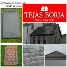 Genteng keramik Tejas borja spanyol