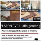 Plafon Atap PVC  lafla genteng 3