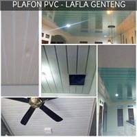 Jual Plafon Atap PVC  lafla genteng