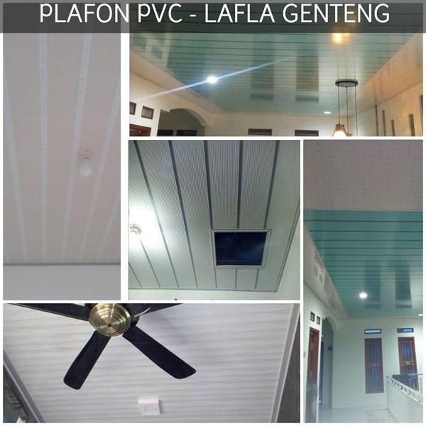 Plafon Atap PVC  lafla genteng