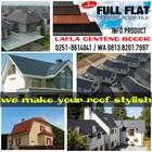 Kanmuri flat roof tiles 2