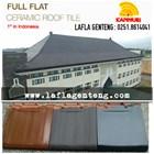 Kanmuri flat roof tiles 4
