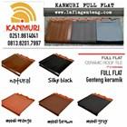 Kanmuri flat roof tiles 3
