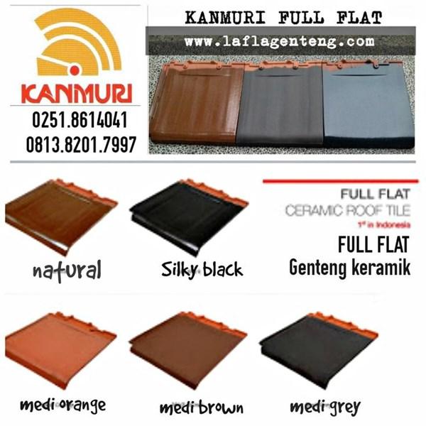 Kanmuri flat roof tiles
