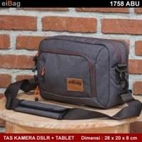 Jual Tas Kamera Dan Tablet 10 INCH EIBAG 1758 Abu Tua