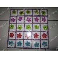 Souvenir Bross Bunga Transparan