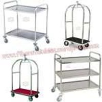 Trolley Hotel Stainless