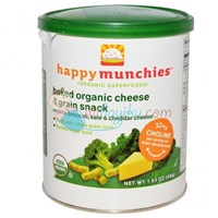 Jual Happy Baby Munchies Baked Organic Broccoli Kale & Cheddar Cheese Size