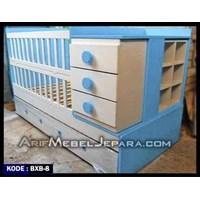 Jual Box Bayi Warna Putih Biru
