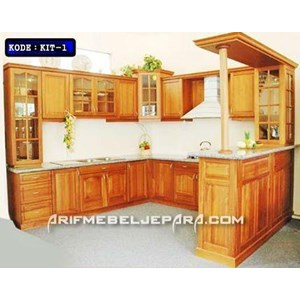 Sell Teak Kitchen Set From Indonesia By Cv Arif Mabel Jepara Cheap