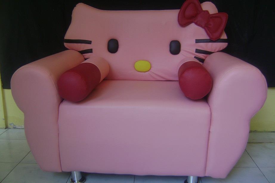 Jual Sofa Karakter Hello Kitty Pink Harga Murah Semarang
