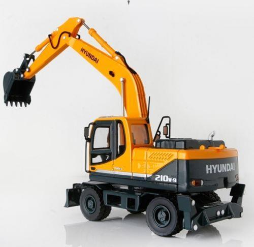 Jual Miniatur Alat Berat Hyundai Wheel Excavator Harga