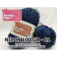Jual NILON 100 GRAM - 11 (BIRU DONGKER)