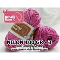Jual NILON 100 GRAM - 3 (MERAH MUDA)