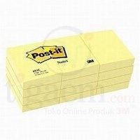 Post-It Canary Yellow 653 (Retail 12 Pack) –  Scrap Paper 3 m Dg Cornices