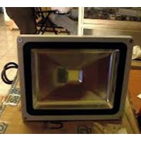 Lampu Sorot LED Solar Flood Light