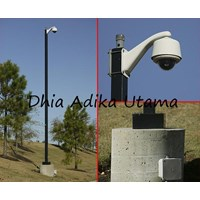 TIANG MONOPOLE CCTV