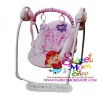 Babyelle Automatic Baby Swing - Pink
