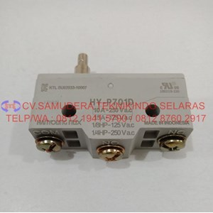 Micro Switch Hy-P701d Hanyoung